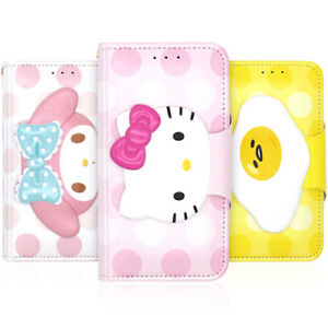 Genuine Hello Kitty Friends Face Diary Case iPhone X/XS/XS Max/XR Case 12 Types