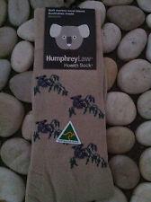 HUMPHREY LAW HEALTH SOCK MERINO WOOL KOALA  LARGE MENS 10-13