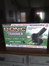 NEW IN BOX BELL & HOWELL BIONIC CORDLESS WEED TRIMMER (LAST ONE}