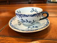 "Rorstrand Ostindia East Indies Swedish Cup & Saucer Set, 3 1/2"" D x 2"" T (Cup)"