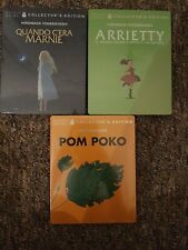 New Sealed Studio Ghibli Steelbook Limited Collectors Edition Anime Bundle italy