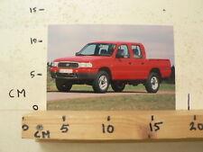 AF174-PHOTO FACTORY ? MAZDA ? PICK-UP PICKUP CAR AUTO  4WD
