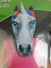 Rasta Imposta Unicorn Mask Funny Novelty Halloween Costume One Size #5233
