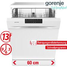 Geschirrspüler Spülmaschine 60cm Geschirrspülmaschine Weiß Stand Spüler Display