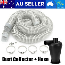 Industrial Extractor Powder Dust Collector + 2Pcs Hose Set For Vacuums Cleaners