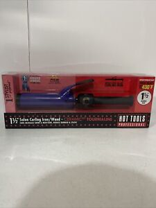 Hot Tools 1 1/2 Inch Professional Ceramic Curling Iron Multi-Heat New in Box