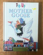 MOTHER GOOSE Pop-Up Vintage Random House book
