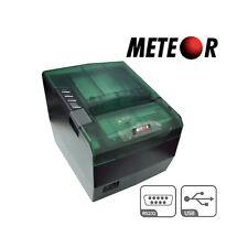 STAMPANTE TERMICA 80MM METEOR SPEEDY USB SERIALE RS232 NUOVA SCONTRINI CASSA-