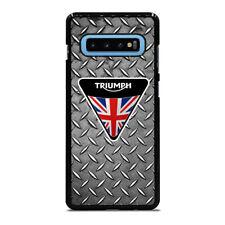 LOGO TRIUMPH MOTORCYCLE Samsung S6 S7 Edge S8 S9 S10 S10e S20 Plus Ultra Case