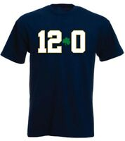 """Notre Dame Fighting Irish National Champions """"12-0 UNDEFEATED"""" T-Shirt"""