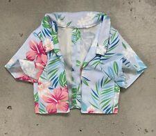 KC-KSSHT-BLU: Fabric Hawaii Shirt for McFarlane Suicide Squad King Shark - Blue