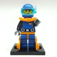 "LEGO Collectible Minifigure #8683 Series 1 ""DEEP SEA DIVER"" (Complete)"