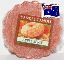 YANKEE CANDLE Tart Melt * Apple Spice * FREE Postage for ADDITIONAL TARTS