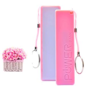 Cargador Bateria Externa Para Telefono Celular Samsung iPhone Portatil 2600mAH