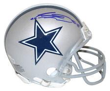 CeeDee Lamb Autographed/Signed Dallas Cowboys Mini Helmet FAN 28073
