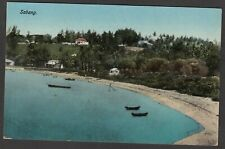 Postcard Sabang Aceh Indonesia early view of beach
