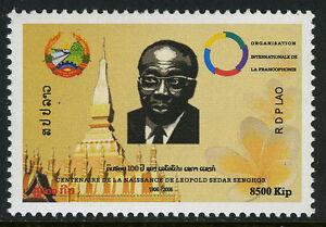 Laos 1693, MNH Leopold Sedar Senghor, Premier Président De Sénégal, 2006