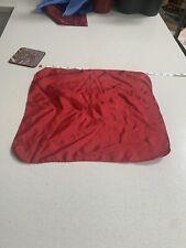 Dark Red Solid Mens Silk Pocket Square Handkerchief For Jacket Top Pocket Mod