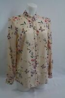 Ladies new ex george PINK print blouse size 8 10 12 14 18 20 22