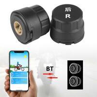 Sans fil Pneu Système de Surveillance de la Pression TPMS Bluetooth Pour Moto