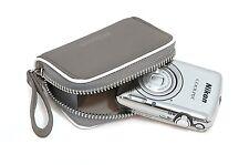 Nikon Kamera-Tasche CS S50 COOLPIX S01 S02 APN GRAU Geldbeutel
