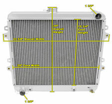 2 Row RS Champion Radiator for 1986 - 1995 Toyota Pickup L4 Engine