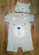 5aa84fef7bf7 George Boys  Babygrows and Playsuits 0-24 Months