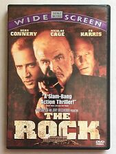 The Rock (DVD, 1997) SEAN CONNERY, NICOLAS CAGE, FREE SHIPPING