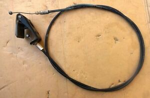 TOYOTA STARLET KP60 KP61 5DRS MODEL 1983 85 HOOD RELEASE CABLE 53611-12010