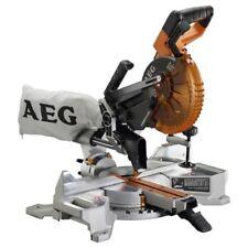 AEG 18v 184mm Cordless Brushless Mitre Saw - Skin Only
