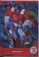Transformers Optimum Generation 1 Foil Chase Card TF7 Sideswipe