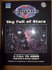 Babylon 5 A Call to Arms Sky Full of Stars HC VG - Mongoose Publishing 2006 DA39