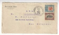 1923 Guatemala Commercial to New Orleans Louisiana, #164, #172