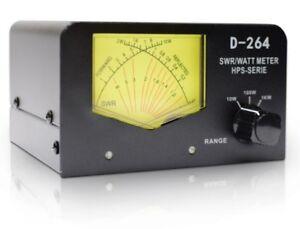 CB RADIO ANTENNA SWR CROSS TYPE WATT POWER METER D-264 26 - 30 MHz