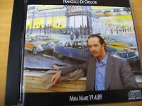FRANCESCO DE GREGORI MIRA MARE 19 4 89 CD MINT-