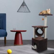 """36"""" Cat Tree Tower Condo Furniture Scratching Sleep Pet Play House Brown"""