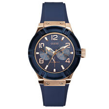 GUESS w0571L1 Jet Setter Blue Dial Ladies Watch