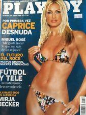 Playboy Spain Magazine April 2000 Caprice