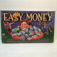 Easy Money Board Game 1996 Milton Bradley Fun Family Financial Learning Game