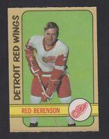 1972-73  OPC O PEE CHEE   # 123  RED BERENSON  NRMT-MT   INV 7784