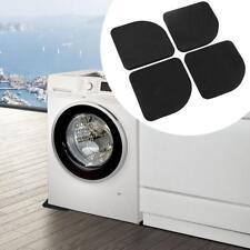 4pcs Square Refrigerator Mute Shock Mat Washing Machine Anti Vibration Pad