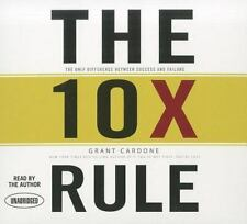 9 CD The 10X Rule The Only Difference Between Success and Failure Grant Cardone