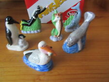 2008 WADE SET 2 UNDER THE SEA WHIMSIES 6 FIGURES INCL DIVER PENGUINS  ETC BOXED