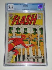 Flash #105 (Feb-Mar 1959) CGC 2.5 1st Silver Age Flash Title, 1st Mirror Master