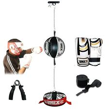 Onex Speed Ball Double End Dodge Leather Boxing Floor to Ceiling Punch Bag