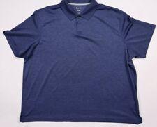 Haggar Clothing mens polo shirt size 2XL purple short sleeve collared