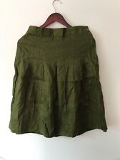 NWT Beautiful Linen Comfy Gudrun Sjöden Skirt Size S Gorgeous Color  A-line