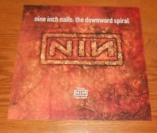 Nine Inch Nails The Downward Spiral Poster 2-Sided Flat Square Promo 12x12