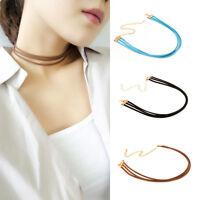 Fashion Women Velvet Choker Necklace Chain Pendant Retro Punk Necklace Jewelry