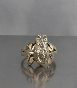 CrazieM Sterling 925 Silver Vintage Southwest Estate Ring Size 7.75 6.2g x90